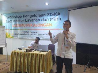 Workshop Pengelolaan ZISKA bagi Kantor Layanan dan Mitra