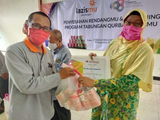 Penyerahan RendangMu dan Launching Program Tabungan Qurban