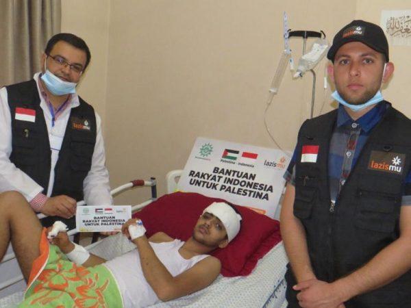 Bantuan Lazismu untuk Palestina Telah Sampai